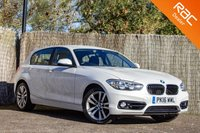 USED 2016 16 BMW 1 SERIES 2.0 118D SPORT 5d 147 BHP £0 DEPOSIT BUY NOW PAY LATER - 1 OWNER - FULL BMW S/H - NAV