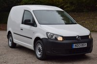 2013 VOLKSWAGEN CADDY 1.6 C20 TDI BLUEMOTION 75  74 BHP £4750.00