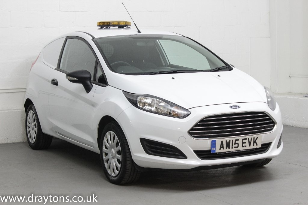 View our 2015 15 FORD FIESTA 1.5 TDCI Panel Van 3dr