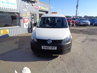 USED 2011 VOLKSWAGEN CADDY 1.6 C20 TDI 102 5d 101 BHP NO VAT!!! NO VAT, VERY CLEAN VAN ONLY 30K MILES!