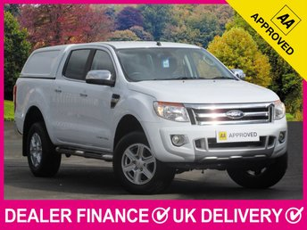 2016 FORD RANGER 2.2 TDCI Limited Double Cab Hardtop Canopy 4WD 150 BHP £12950.00