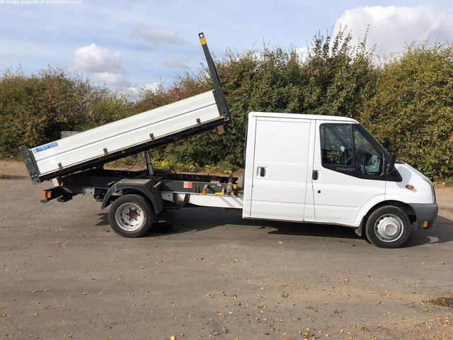 View our 2013 13 FORD TRANSIT 2.2 TDCi 350 L 1-Way Double Cab Tipper RWD 4dr (EU5, LWB)