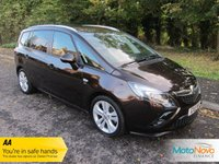 USED 2015 15 VAUXHALL ZAFIRA TOURER 2.0 SRI CDTI 5d AUTO 162 BHP Lovely One Lady Owned Low Mileage Automatic Zafira Tourer with Seven Seats, Air Conditioning, Cruise Control, Alloy Wheels and Vauxhall Service History