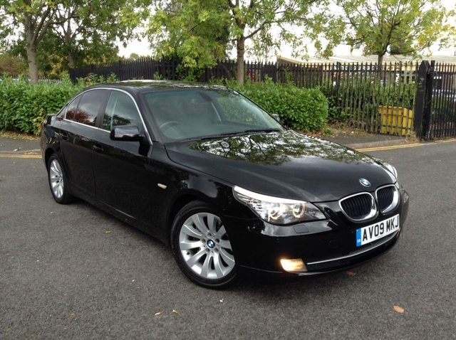 2009 09 BMW 5 SERIES 2.0 520D SE BUSINESS EDITION 4d 175 BHP