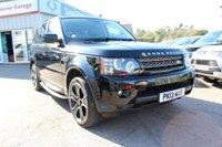 2013 LAND ROVER RANGE ROVER SPORT 3.0 SDV6 HSE BLACK 5d AUTO 255 BHP £19995.00