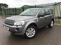 2011 LAND ROVER FREELANDER 2 2.2 TD4 HSE 5d 150 BHP FACELIFT SAT NAV PAN ROOF LEATHER PRIVACY ONE OWNER FSH £11990.00