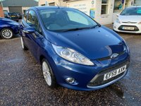 USED 2009 59 FORD FIESTA 1.4 TITANIUM 3d 96 BHP FULL MAIN DEALER SERVICE HISTORY