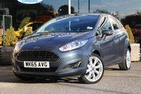 2015 FORD FIESTA 1.0 TITANIUM 5d 100 BHP £8995.00