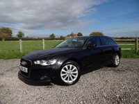 USED 2014 64 AUDI A6 2.0 AVANT TDI ULTRA SE 5d 188 BHP ONLY 1 LADY OWNER FROM NEW WITH FULL AUDI SERVICE HISTORY