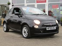 USED 2009 59 FIAT 500 1.2 MULTIJET SPORT 75 3d 75 BHP Part Exchange to clear. Clearance Terms and conditions apply, MAY NEED some attention both mechanically or cosmetically, PLEASE RING FOR DETAILS. Features include, Only £20 Road Tax, Part leather, B/Tooth (Blue & Me), Alloys, A/C. MOT is due on 18/06/2019.