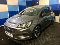 """USED 2017 17 VAUXHALL CORSA 1.6 VXR 3d 202 BHP A truely wonderfull example of this highly sought after sporty hatchback finished in unmarked satin steel grey metalic contrasted with 18"""" Y spoke two tone alloys .further enhanced with the carbon pack this car looks and drives superbly comming with all the usual refinements including  half leather recaro seats,xenon headlamps with daytime running lights,bluetooth phone prep,tyre pressure monitoring system,intellilink infotainment system,sports exhaust,air conditioning.plus all the usual extras."""