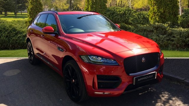 View our 2018 18 JAGUAR F-PACE 2.0d (240) R-Sport 5dr AWD