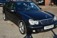 2005 MERCEDES-BENZ C CLASS 2.1 C200 CDI AVANTGARDE SE 4d AUTO 121 BHP £2200.00