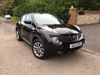 2013 NISSAN JUKE 1.6 TEKNA 5d 117 BHP PLEASE CALL TO VIEW £6950.00