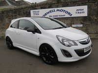 2014 VAUXHALL CORSA 1.2 LIMITED EDITION 3d 83 BHP £6250.00
