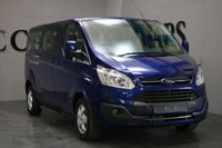 USED 2017 66 FORD TOURNEO CUSTOM 2.0 310 TITANIUM TDCI 5d 129 BHP VAT QUALIFYING A Versatile and Economical 9 Seat Minibus with Superb Full Grey and Black Heated Leather Throughout. This Vehicle has been Meticulously Maintained with a Full Documented Service History