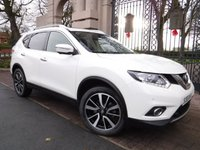 USED 2015 65 NISSAN X-TRAIL 1.6 DCI N-TEC XTRONIC 5d AUTO 130 BHP FINANCE ARRANGED***PART EXCHANGE WELCOME***1 OWNER***SAT NAV***360 CAMERAS***7 SEATS***BLUETOOTH***DAB***USB***AUX***A/C