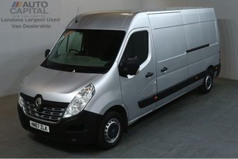 2017 RENAULT MASTER 2.3 LM35 BUSINESS ENERGY DCI 145 BHP L3 H2 LWB EURO 6 AIR CON £14490.00