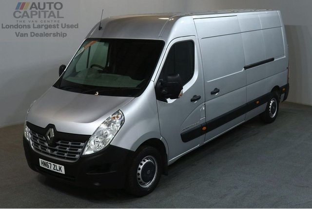 2017 67 RENAULT MASTER 2.3 LM35 BUSINESS ENERGY DCI 145 BHP L3 H2 LWB EURO 6 AIR CON AIR CONDITIONING / SPARE KEY