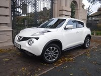 USED 2015 65 NISSAN JUKE 1.6 TEKNA XTRONIC 5d AUTO 117 BHP FINANCE ARRANGED***PART EXCHANGE WELCOME***1 OWNER***FULL SERVICE HISTORY***360 CAMERAS***NAV***CRUISE***BLUETOOTH***DAB***USB***AUX***CD***