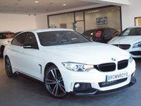 USED 2015 15 BMW 4 SERIES 2.0 420D M SPORT GRAN COUPE 4d AUTO 181 BHP M PERFORMANCE STYLING+BIG SPEC
