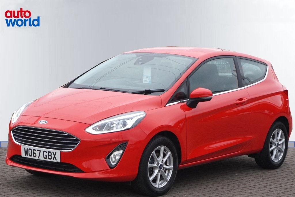 View our 2018 67 FORD FIESTA SATNAV & BLUETOOTH!