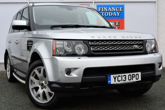 2013 13 LAND ROVER RANGE ROVER SPORT 3.0 SDV6 HSE BLACK EDITION 4x4 AUTO 5dr Family SUV