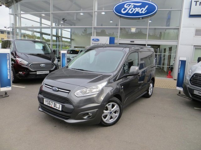 View our 2017 67 FORD TRANSIT CONNECT  1.5 TDCi 120ps Limited Van