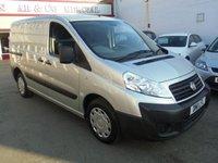 2011 FIAT SCUDO 2.0 COMFORT SWB MULTIJET 1d 118 BHP £3495.00