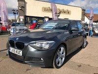 2015 BMW 1 SERIES 2.0 118D M SPORT 5d 141 BHP £14695.00