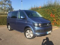 USED 2016 16 VOLKSWAGEN TRANSPORTER T30/180 TDI KOMBI HIGHLINE DSG AUTO SWB Satellite Navigation, Air Conditioning, DSG Automatic