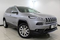 USED 2015 65 JEEP CHEROKEE 2.2 M-JET II LIMITED ADII 5DR 197 BHP Full Service History FULL SERVICE HISTORY + HEATED/COOLED LEATHER SEATS + SAT NAVIGATION + REVERSE CAMERA + BLUETOOTH + CRUISE CONTROL + MULTI FUNCTION WHEEL + CLIMATE CONTROL + RADIO/CD/AUX/USB/SD + 18 INCH ALLOY WHEELS