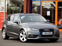 USED 2014 14 AUDI A3 2.0 TDi SPORTBACK SPORT 5dr (182)  ** OVER £4000 Worth of Extras **