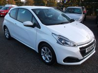 USED 2016 16 PEUGEOT 208 1.2 ACTIVE 3d 82 BHP ****Great Value economical reliable family car with excellent service history, drives superbly****