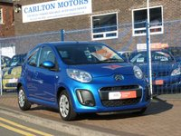 USED 2012 62 CITROEN C1 1.0 VTR 5d 67 BHP £0 ROAD TAX ~ AIR CONDITIONING  ~  ELECTRA BLUE METALLIC ~ DAY TIME RUNNING LIGHTS