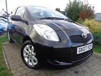 USED 2007 07 TOYOTA YARIS 1.3 L ZINC 3d 86 BHP **1 Owner Low Mileage Full Toyota Service History 10 Stamps 12 Months Mot**
