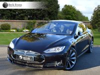USED 2016 16 TESLA MODEL S 0.0 85D 5d AUTO 517 BHP PANORAMIC SUNROOF 21 INCH WHEELS