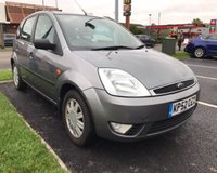 USED 2002 52 FORD FIESTA 1.4 GHIA 16V 5d 78 BHP **Ideal 1st Car 16 Ford Main Agent Services September 2019 Mot**