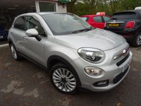 USED 2016 16 FIAT 500X 1.4 MULTIAIR LOUNGE 5d 140 BHP Full Service History, One Lady Owner from new, Minimum 8 months MOT, 6 Speed Gearbox