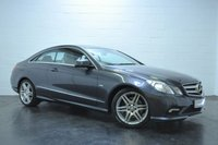 USED 2010 60 MERCEDES-BENZ E CLASS 2.1 E250 CDI BLUEEFFICIENCY SPORT 2d AUTO 204 BHP PANORAMIC GLASS SUNROOF + FULL SERVICE HISTORY