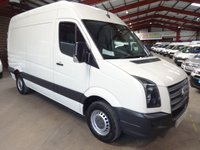 USED 2011 61 VOLKSWAGEN CRAFTER 2.0 CR35 TDI 109 BHP LWB HI ROOF-ONE OWNER   '' YOU'RE IN SAFE HANDS  ''  WITH THE AA DEALER PROMISE