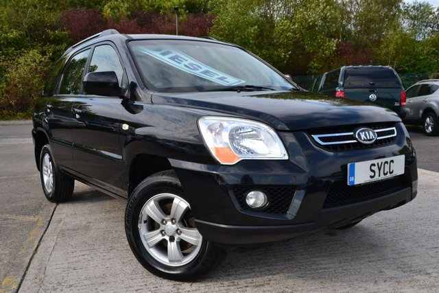 USED 2009 59 KIA SPORTAGE 2.0 XE CRDI 5d 138 BHP 8 SERVICE STAMPS ~ 2 FORMER KEEPERS ~ 6 MONTHS WARRANTY