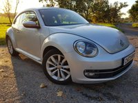 USED 2013 62 VOLKSWAGEN BEETLE 1.2 DESIGN TSI DSG 3d AUTO ALLOY UPGRADE