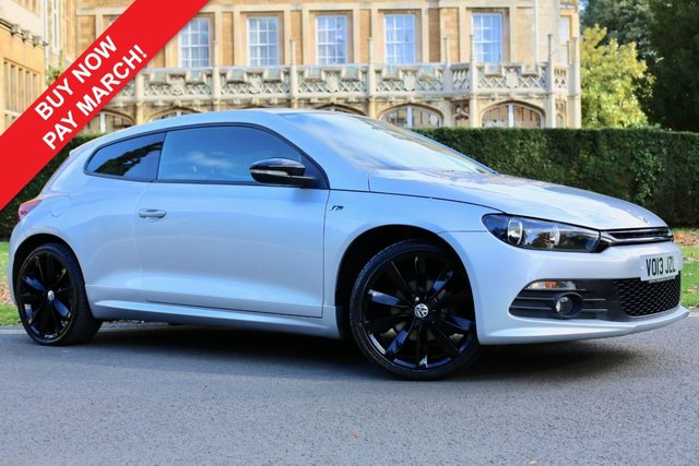 USED 2013 13 VOLKSWAGEN SCIROCCO 2.0 R LINE TDI BLUEMOTION TECHNOLOGY 2d 140 BHP
