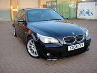 USED 2006 56 BMW 5 SERIES 3.0 530D M SPORT 4d AUTO 228 BHP ANY PART EXCHANGE WELCOME, COUNTRY WIDE DELIVERY ARRANGED, HUGE SPEC