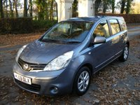 USED 2009 09 NISSAN NOTE 1.4 ACENTA 5d 88 BHP