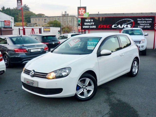 2011 VOLKSWAGEN GOLF 1.6 MATCH TDI 103 BHP