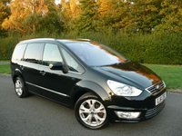 2011 FORD GALAXY 2.0 TITANIUM X TDCI 5d 161 BHP MANUAL, 7 SEAT MPV £9980.00