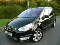 USED 2011 61 FORD GALAXY 2.0 TITANIUM X TDCI 5d 161 BHP MANUAL, 7 SEAT MPV