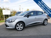 USED 2015 65 RENAULT CLIO 1.1 DYNAMIQUE NAV 16V 5d 73 BHP ONE FORMER KEEPER FROM NEW WITH FULL SERVICE HISTORY